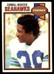 1979 Topps #349  Cornell Webster  Front Thumbnail