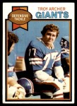 1979 Topps #81  Troy Archer  Front Thumbnail