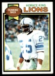 1979 Topps #26  Horace King  Front Thumbnail