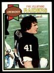1979 Topps #283  Phil Villapiano  Front Thumbnail