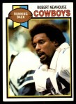 1979 Topps #252  Robert Newhouse  Front Thumbnail