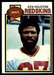 1979 Topps #350  Ken Houston  Front Thumbnail
