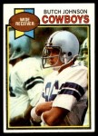 1979 Topps #86  Butch Johnson  Front Thumbnail