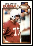 1979 Topps #231  Mike Dawson  Front Thumbnail