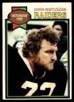 1979 Topps #108  John Matuszak  Front Thumbnail