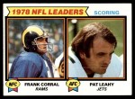 1979 Topps #4   -  Frank Corral / Pat Leahy Scoring Leaders Front Thumbnail