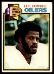 1979 Topps #390  Earl Campbell  Front Thumbnail