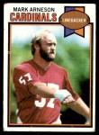 1979 Topps #408  Mark Arneson  Front Thumbnail