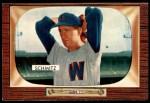 1955 Bowman #105  Johnny Schmitz  Front Thumbnail