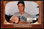 1955 Bowman #273  Bubba Church  Front Thumbnail