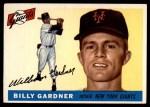 1955 Topps #27  Billy Gardner  Front Thumbnail