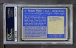 1963 Topps #45  Jacques Plante  Back Thumbnail