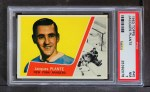1963 Topps #45  Jacques Plante  Front Thumbnail