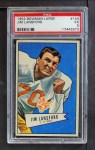 1952 Bowman Large #144  Jim Lansford  Front Thumbnail