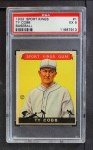 1933 Goudey Sport Kings #1  Ty Cobb   Front Thumbnail