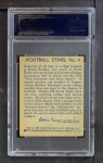 1935 National Chicle #9  Knute Rockne  Back Thumbnail