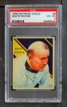 1935 National Chicle #9  Knute Rockne  Front Thumbnail