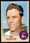 1968 Topps #79  Ted Kubiak  Front Thumbnail