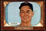 1955 Bowman #318  Sid Hudson  Front Thumbnail