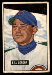 1951 Bowman #246  Bill Serena  Front Thumbnail