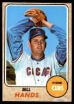 1968 Topps #279  Bill Hands  Front Thumbnail