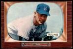 1955 Bowman #156  Jim Hughes  Front Thumbnail