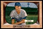 1955 Bowman #21  Don Hoak  Front Thumbnail