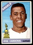 1966 Topps #505  Jose Cardenal  Front Thumbnail