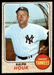 1968 Topps #47  Ralph Houk  Front Thumbnail