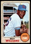 1968 Topps #37  Billy Williams  Front Thumbnail