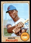 1968 Topps #202  Adolfo Phillips  Front Thumbnail