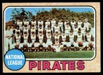 1968 Topps #308   Pirates Team Front Thumbnail