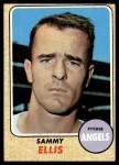 1968 Topps #453  Sammy Ellis  Front Thumbnail