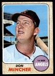 1968 Topps #75  Don Mincher  Front Thumbnail