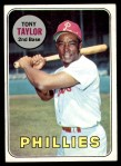1969 Topps #108  Tony Taylor  Front Thumbnail