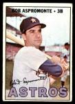 1967 Topps #274  Bob Aspromonte  Front Thumbnail