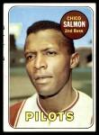 1969 Topps #62  Chico Salmon  Front Thumbnail