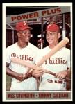 1966 Topps #52   -  Wes Covington / Johnny Callison Power Plus Front Thumbnail