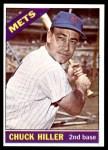 1966 Topps #154  Chuck Hiller  Front Thumbnail