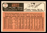 1966 Topps #190  Jimmie Hall  Back Thumbnail