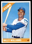 1966 Topps #580  Billy Williams  Front Thumbnail