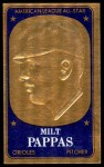 1965 Topps Embossed #20   Milt Pappas   Front Thumbnail