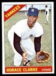 1966 Topps #547  Horace Clarke  Front Thumbnail