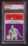 1961 Fleer #15  Sihugo Green  Front Thumbnail