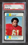 1973 Topps #167  Curley Culp  Front Thumbnail