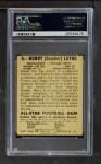 1948 Leaf #6 YEL Bobby Layne  Back Thumbnail