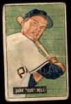 1951 Bowman #40  Gus Bell  Front Thumbnail
