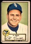 1952 Topps #70 RED Al Zarilla  Front Thumbnail