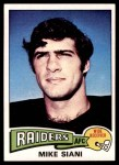 1975 Topps #151  Mike Siani  Front Thumbnail