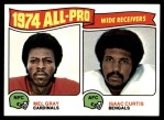 1975 Topps #211   -  Mel Gray / Isaac Curtis All-Pro Wide Receivers Front Thumbnail